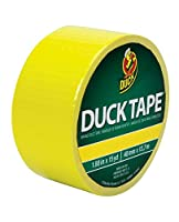 Duck Brand Color Duct Tape: 1.88 in. x 15 yds. (Atomic Yellow)