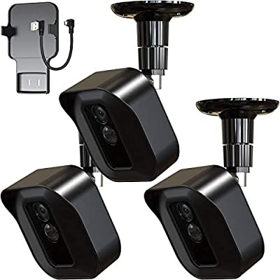 Blink XT2 Camera Outdoor Mount, 3 Pack Weather Proof Protective Cover and 360 Degree Adjustable Mount with Blink Sync Module Outlet Mount for Blink XT2 Outdoor Indoor Home Security Camera System