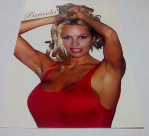 Pamela Anderson–Badeanzug Rot–10x 15cm–Postkarte