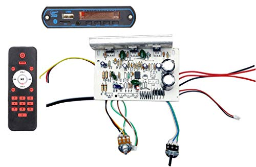 Classic Gold 2030 IC Home Theater 2.1/4.1/5.1 Sub Woofer Amplifier Board with Bluetooth Module and Remote (HI-Power/ Bahubali Board)