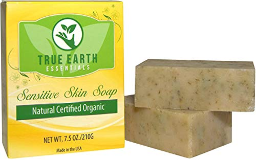 True Earth Essentials Natural Bath Soap, Sulfate-Free, Lavender & Rosemary, 3.75 Ounce, (2 Bars)
