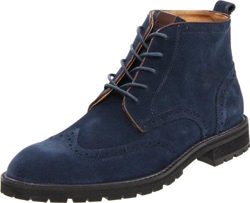 Big Sale Florsheim Men's Gaffney Lace-Up Boot,Navy Suede,13 D US