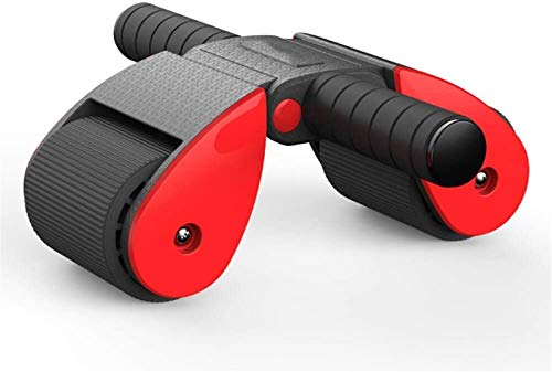 Plztou Ab Roller Wheel, Exercise Abdominal Roller Wheel Triangular Support Trainers, Workout Fitness Exerciser, With Knee Pad For Body Fitness Strength Training Gym