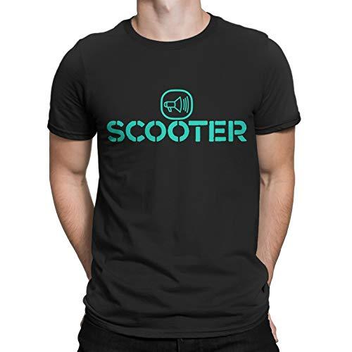 Scooter Techno,Hard Trance German Band Men Printed T-Shirt