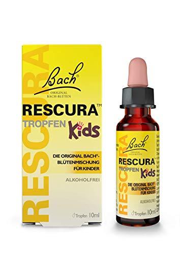 Bach RESCURA Kids Tropfen: Original Rescue Bachblüten-Mischung, speziell für Kinder, für emotionales Wohlbefinden, 10ml