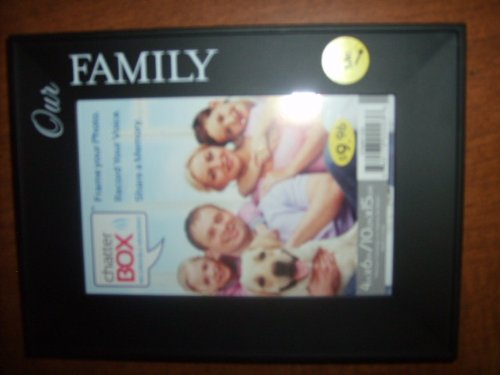 Chatterbox Recordable Picture Frame - Our Family