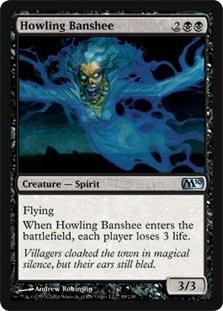 Magic The Gathering - Howling Banshee - Magic 2010