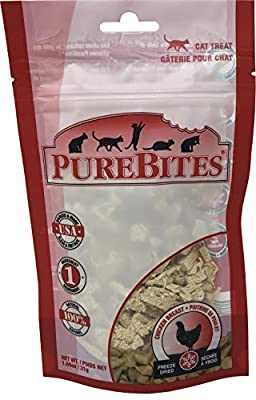 PureBites Freeze Dried Chicken Breast Cat Treats, 1.09 oz.