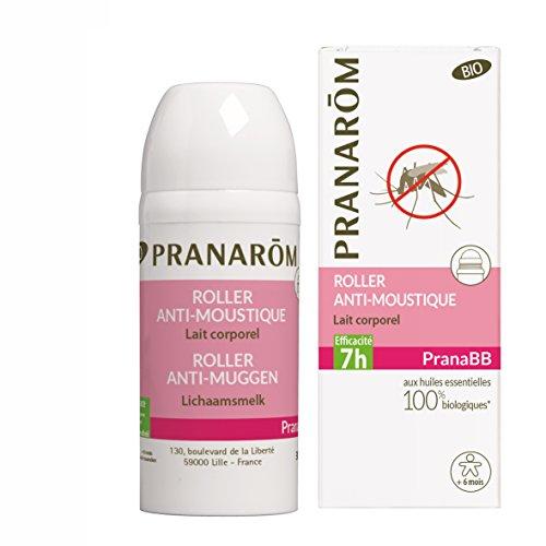 Pranarôm - Pranabb - Roller Anti-Moustique - Lait Corporel - Bio Eco - 30 ml