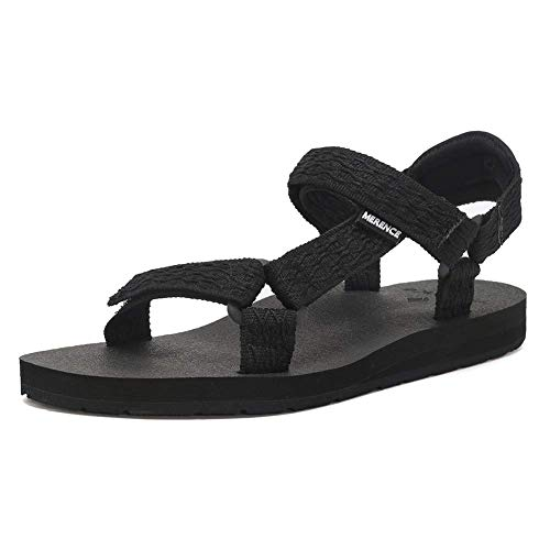 Women's Original Sandals Sport Sandals with Yoga Mat Insole Hiking Sandals Light Weight Shoes U619SLX022-Black-38