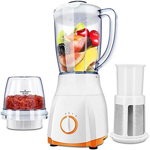 DALIBAI Blender for los Batidos, multifunción Blender 21.000 RPM, Blender for Smoothie Blender, Juicer, trituradora de Hielo, Especias Grinder, 260 W