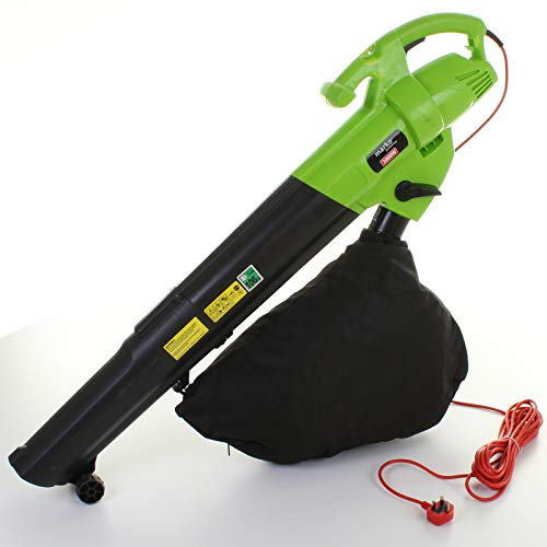 Marko Gardening 3000W Leaf Blower Electric Garden Vacuum Hoover Van Mulcher Shredder 3 in 1