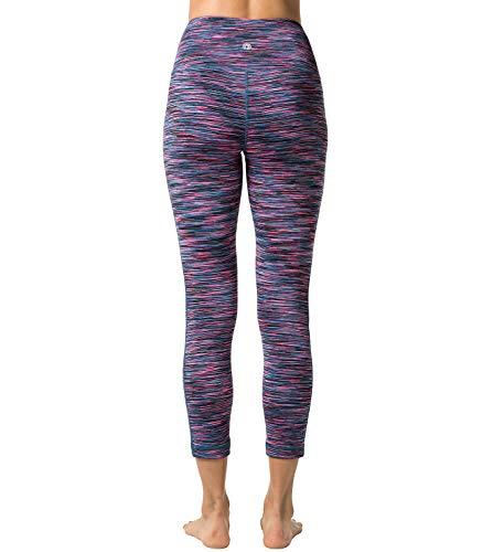 LAPASA Legging Femme Pantalon de Sport avec Poches Yoga Fitness Gym Pilates Taille Haute Gaine Large...