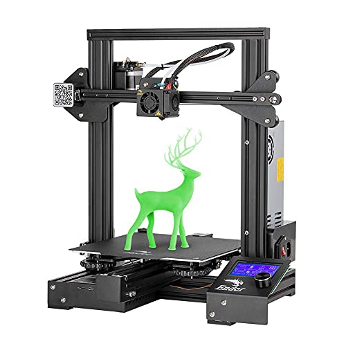 Comgrow Creality 3D Ender 3 Pro 3D Printer with Cmagnet Build Plateform Surface Meanwell Power Supply Unit 220x220x250mm Print Size