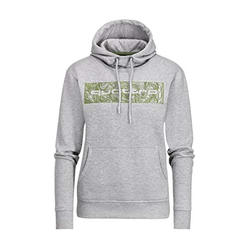 Audi collection 313190070 Quattro Hoodie, Damen, hellgrau, M, Grau, M