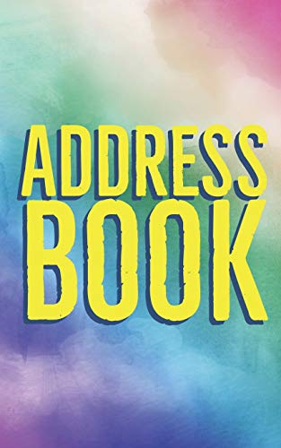 Address Book: 8 x 5 Inches Classic Address Book Alphabetical Organizer Journal Notebook For Recording Contact Name, Address, Phone and Fax Numbers, Emails, and Notes (Volume 7)