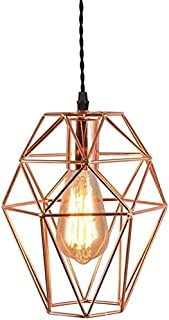 Mopoq Ceiling Lighting Chandelier Modern Minimalist Rose Gold Single Head Pendant Light Ceiling Lighting Restaurant Living...