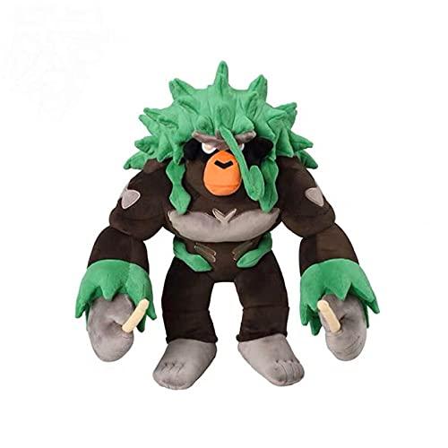 Peluches Grookey Evolution Rillaboom Juego De Felpa Mono Muñeca Juguetes Recoger Decoración para Niños