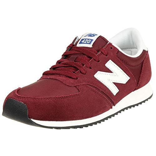 New Balance 420, Zapatillas Unisex Adulto, Rojo (Dark Red RDW), 37 EU