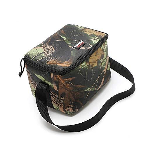 Camouflage Outdoor Picknick Tas Drank Pakket Isolatie gekoelde Maaltijd Tas Oxford Doek Drukken Camouflage