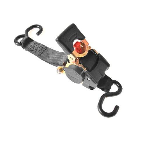ProPlus 320280 spanband met ratel, zelfoprollend 300 cm/750 kg zwart