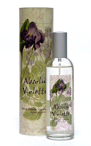 Veilchen Eau de Toilette Violette 100ml Spray aus der Provence