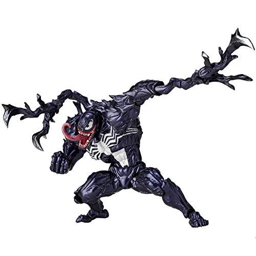 Extrawish Venom Actionfigur Venom Figuren Brock-Serie Handgemachtes Modell Aus PVC-Sammelspielzeug Super Garage Kit Für Kinder Spiele Dekoration Spielzeug Für Kinder
