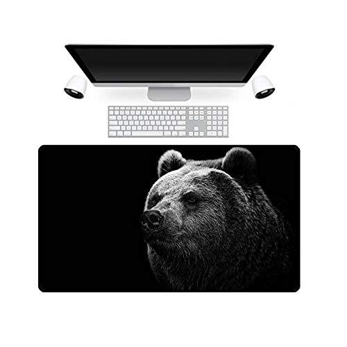 Tierbild Mauspad Gesperrte Mausmatte Xl Tastaturpad Gesperrte Kante Computer Mauspad für Laptop 700X400X3Mm