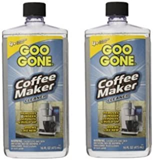 Goo Gone Coffee Maker Cleaner, 2 Pack of 16 Fluid Ounce