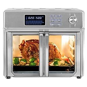 26 QT Digital Maxx Air Fryer Oven Stainless Steel