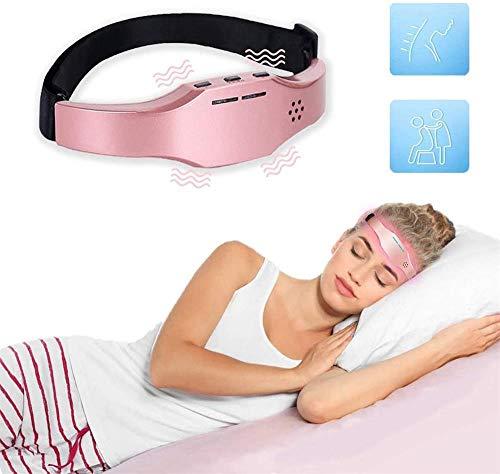 Kopfmassagegerät,Schlafinstrument,Elektrische Kopfmassagegerät,Schlafmittel Instrument,Kopfmassagegerät mit Vibration für Kopf Massage,Kopfmassagegerät USB zur Linderung von Stress und tiefen Schlaf