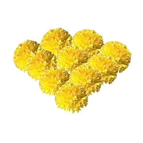 HUIKJI 10 ramas de hortensias de seda de peonía, flores de hortensias de imitación de hortensia, para boda, hogar, fiesta, tienda, decoración de baby shower, 9,9 x 45 cm