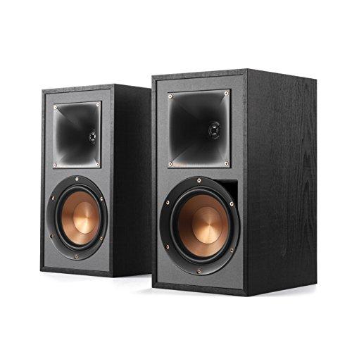 Klipsch R-51PM Conjunto de Altavoces 120 W Negro - Set de Altavoces (120 W, Universal, Negro, MDF, Integrado, 60 W)