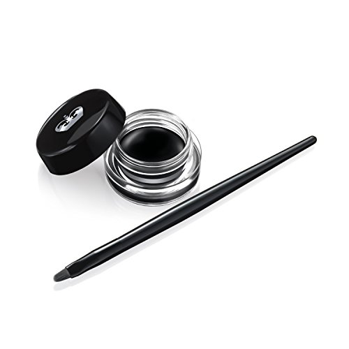 Rimmel Scandaleyes Waterproof Gel Eyeliner, Black, 0.085 oz