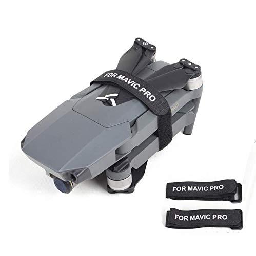 Propellerblatt Fester Magic Tape Propeller Stabilisator Enfoldment Fixiergurt Transport Protector Motor Blade Fixiergurt für Mavic 2 Pro Drohne Zubehör (schwarz)