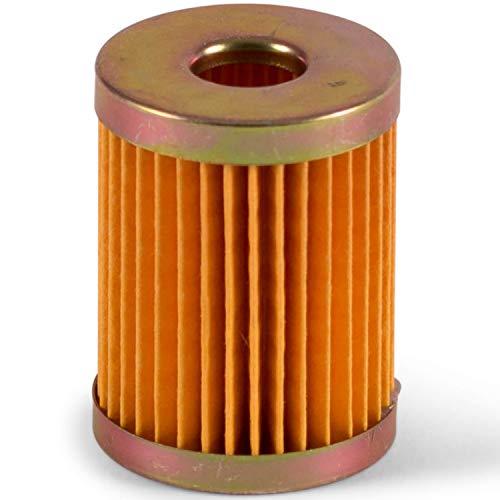 wellenshop Ersatzfilter für Messing Kraftstofffilter Brass Fuel Filter Benzin Kraftstoff Benzinfilter Ersatzteil Boot Außenborder Kartusche
