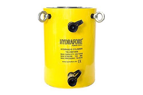 Doppeltwirkender Hydraulikzylinder (200 Ton, 150 mm)