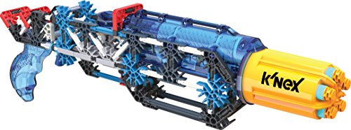 K'NEX K-FORCE – K-25X RotoShot Blaster Building Set – 214 Pieces – Ages 8+ Engineering Education Toy