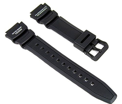 Genuine Casio Replacement Watch Strap 10360816 for Casio Watch SGW-400H-1BVH, SGW-300H-1AVH + Other models