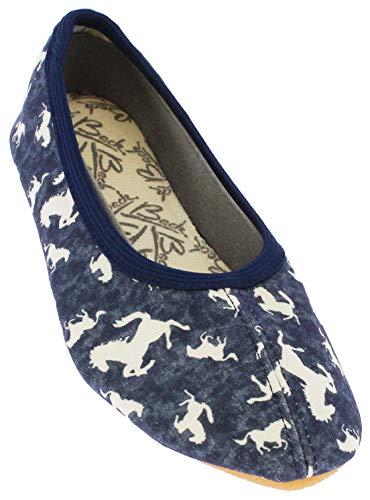 Beck Dziewczęce konie buty gimnastyczne, Blue Jeans 20, 31 EU