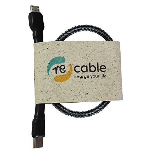recable eBike USB Ladekabel für Bosch Intuvia und Nyon Display USB-Kabel Micro USB A - USB C