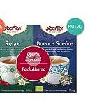 PACK INFUSIONES RELAX + BUENOS SUEÑOS BIO YOGI TEA