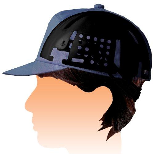 ミドリ安全 帽子用インナーキャップ バンド付き INC100B ブラック