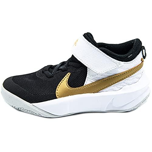 Nike Sneakers Bambino Black/Metallic Gold CW6736 002