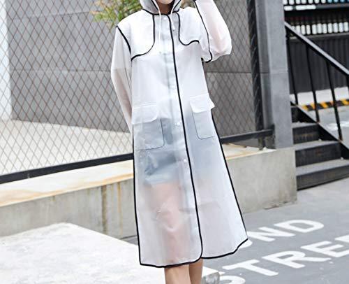 LNLW Dikke Emergency Waterproof Rain Poncho Regenjas Mannen Vrouwen, Rain Poncho for buitenshuis, themaparken, Wandeltocht maken, Kamperen (Size : L)