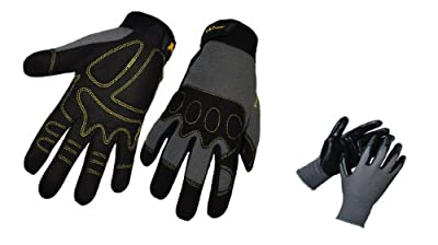 G & F Tough Max Heavy Utility Performance Work Gloves