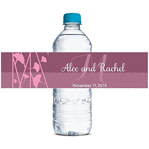 Personalizzati Etichette Delle Bottiglie Di Acqua Matrimonio Autoadesiva Impermeabile Adesivo Personalizzato 8'X 2' Pollici - 70 Etichette