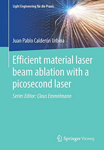 Efficient material laser beam ablation with a picosecond laser (Light Engineering für die Praxis)