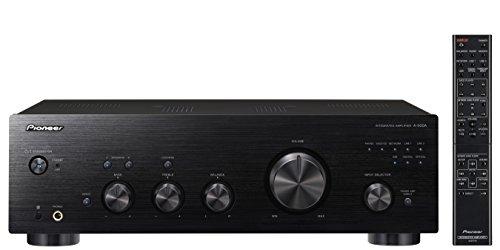 Pioneer A-50DA-K -Amplificador/Transformador estéreo (2 x 90 W, USB D/a analógico, Altavoz a/B-Apagado, función de Entrenamiento), Color Negro