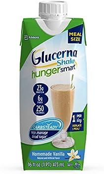 12-Count Glucerna Hunger Smart Meal Size, 16 fl oz